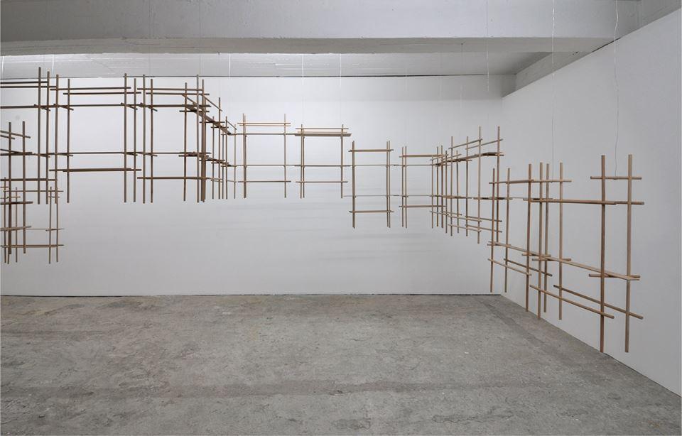 Constructie 'Gedachtenlijnen', Netwerk Aalst 2014